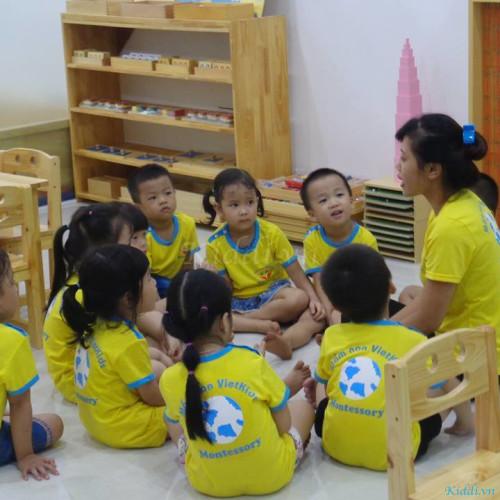 Trường mầm non song ngữ Vietkids Montessori - KĐT Đại Thanh