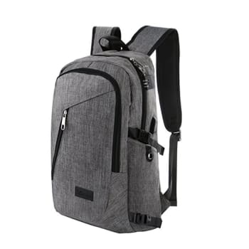 Polyester Laptop Backpack with USB