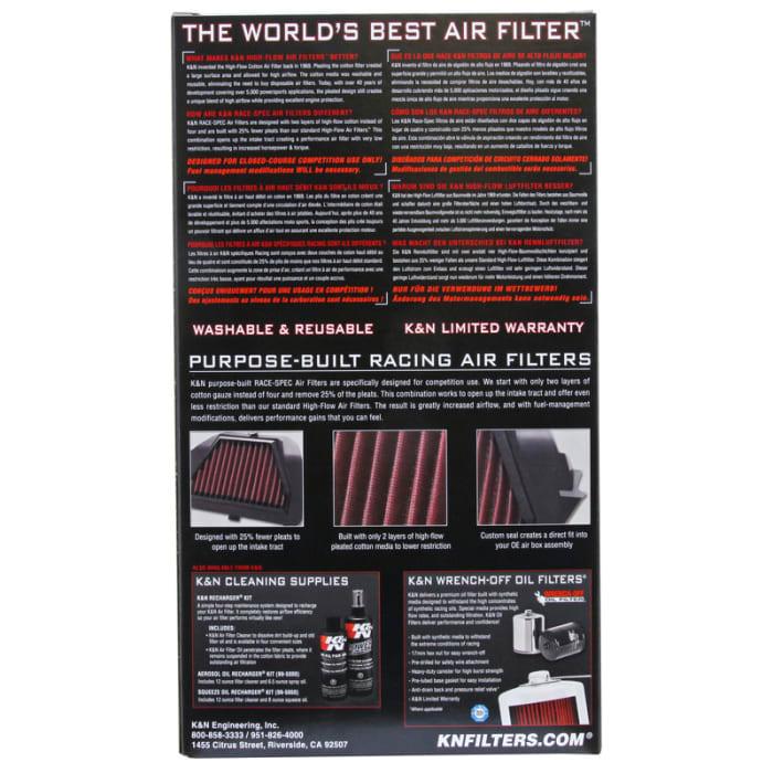 High Flow Air Filter K/&N Engineering  YA-1009R