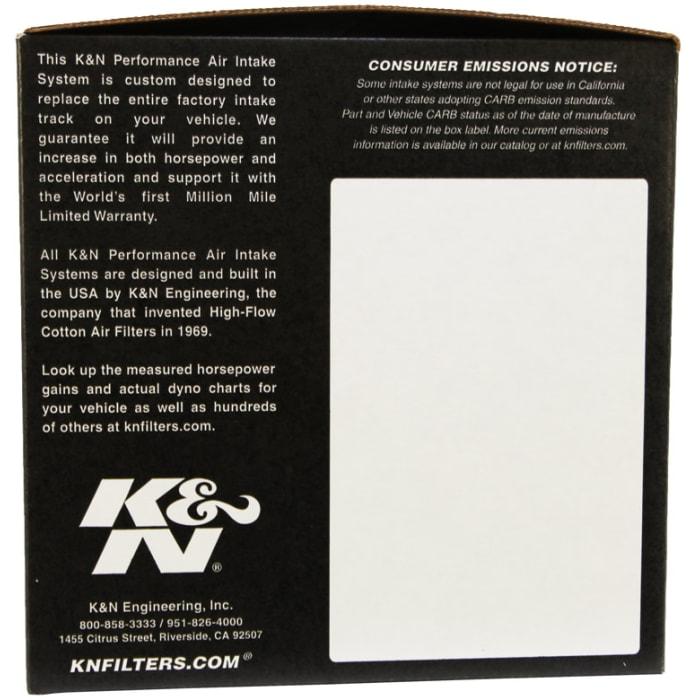 K/&N 57-2511 FIPK Performance Air Intake System K/&N Engineering