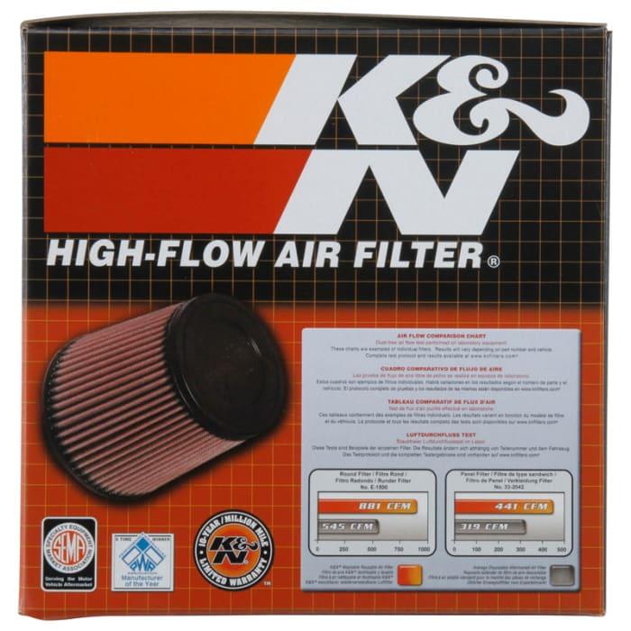 K/&N RU-2989 Yamaha Universal Rubber Air Filter
