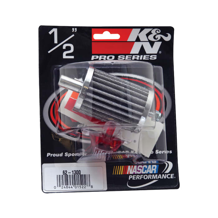 K/&N Steel Base Crankcase Vent Air Filter// Breather 62-1300