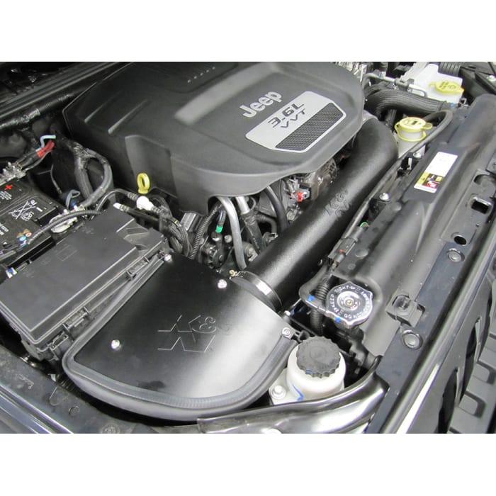 K/&N 63-1566 Cold Air Intake System