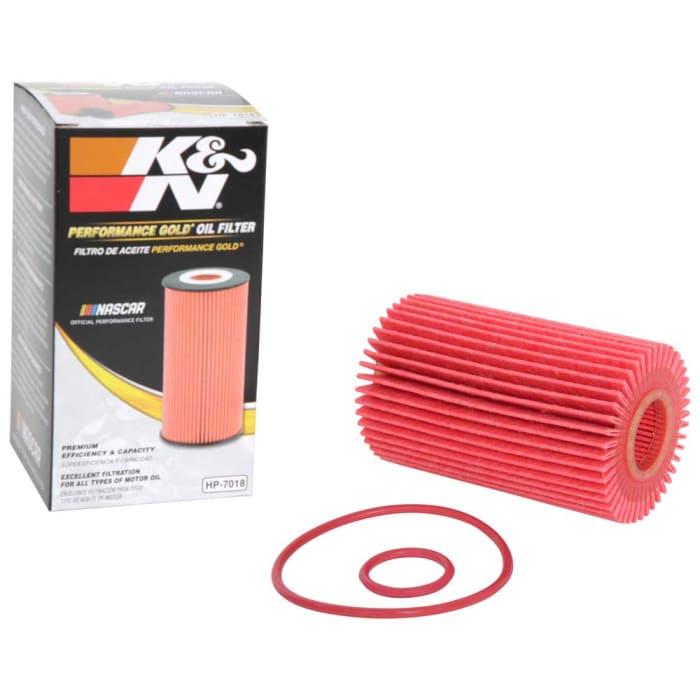 K/&N HP-7018 High Performance Cartridge Oil Filter