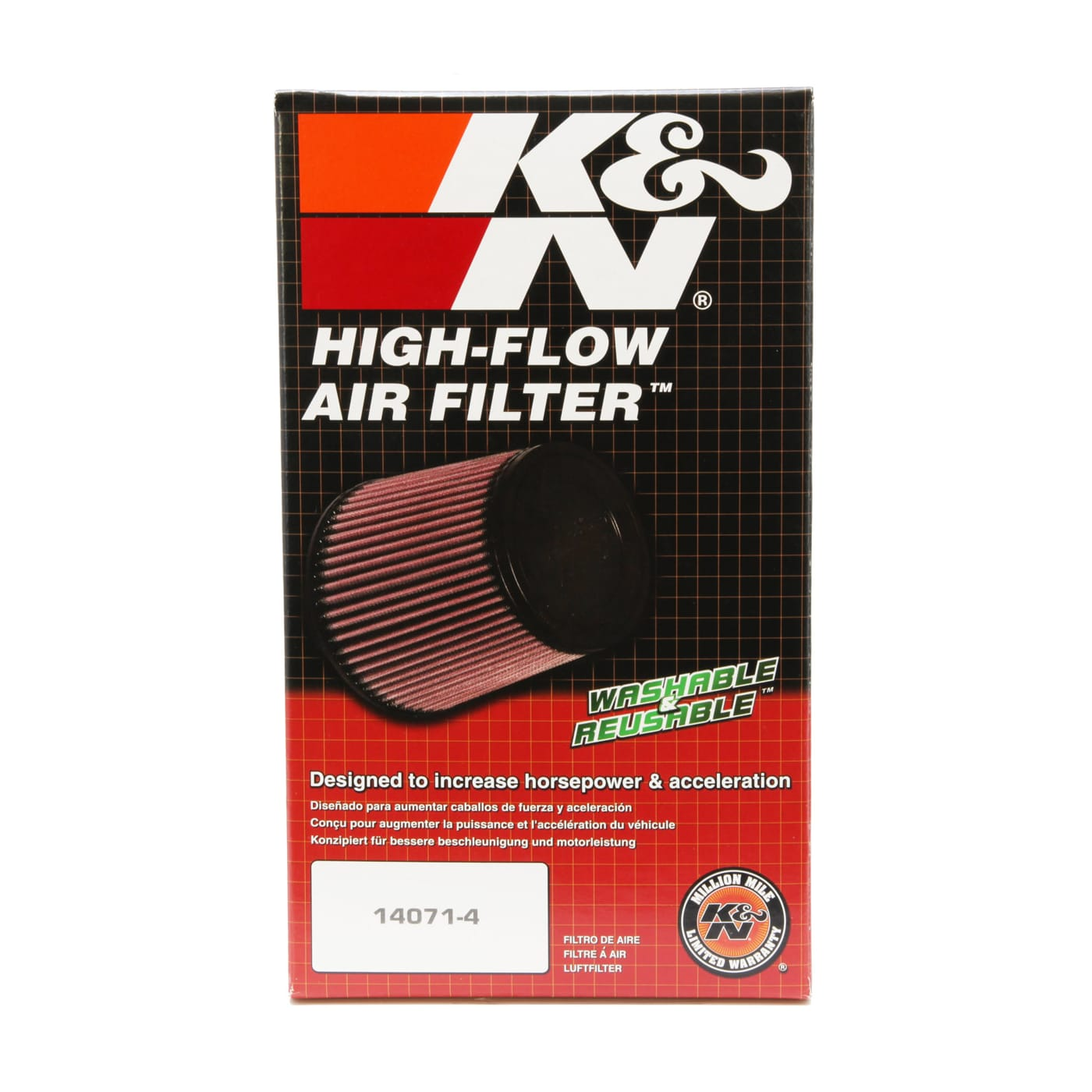 K/&N Ha-1004 Filtri Aria Sostitutivi Moto