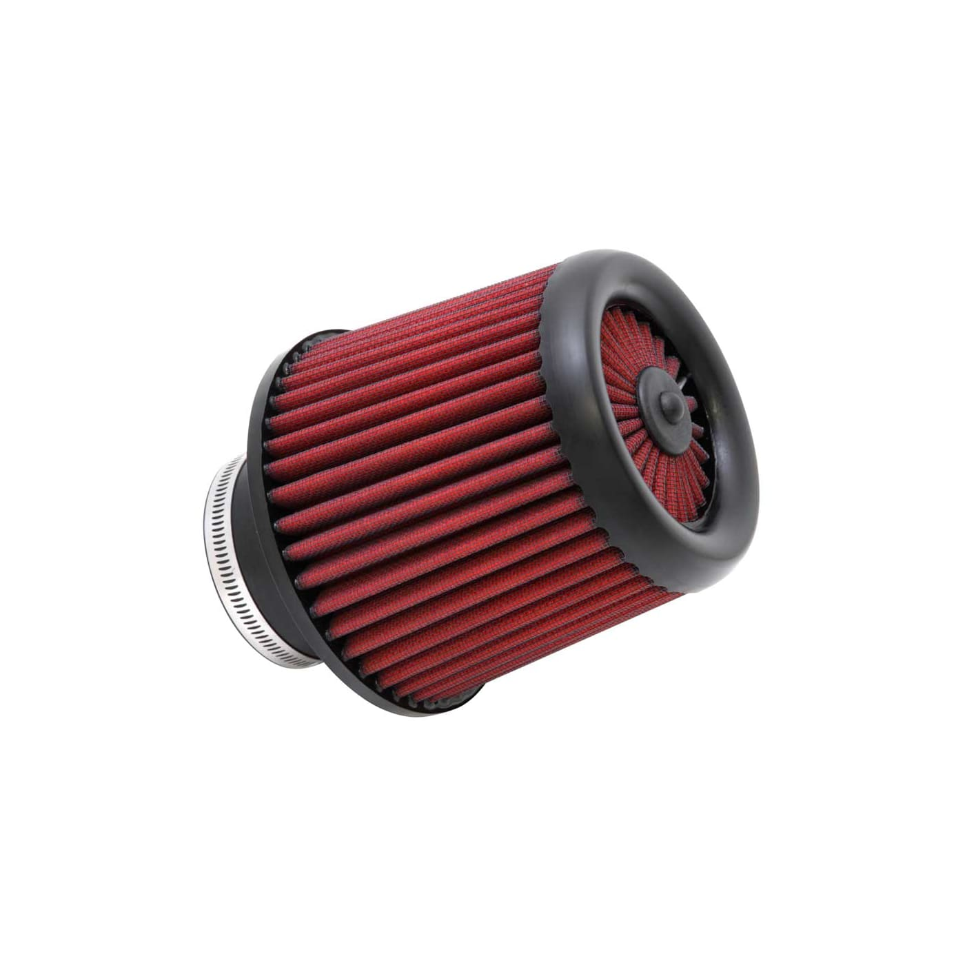 Height; 6 in 152 mm Flange ID; 5.563 in AEM 21-203D-XK Universal DryFlow Clamp-On Air Filter: Round Tapered; 3 in Base; 5 in 76 mm 141 mm 127 mm Top
