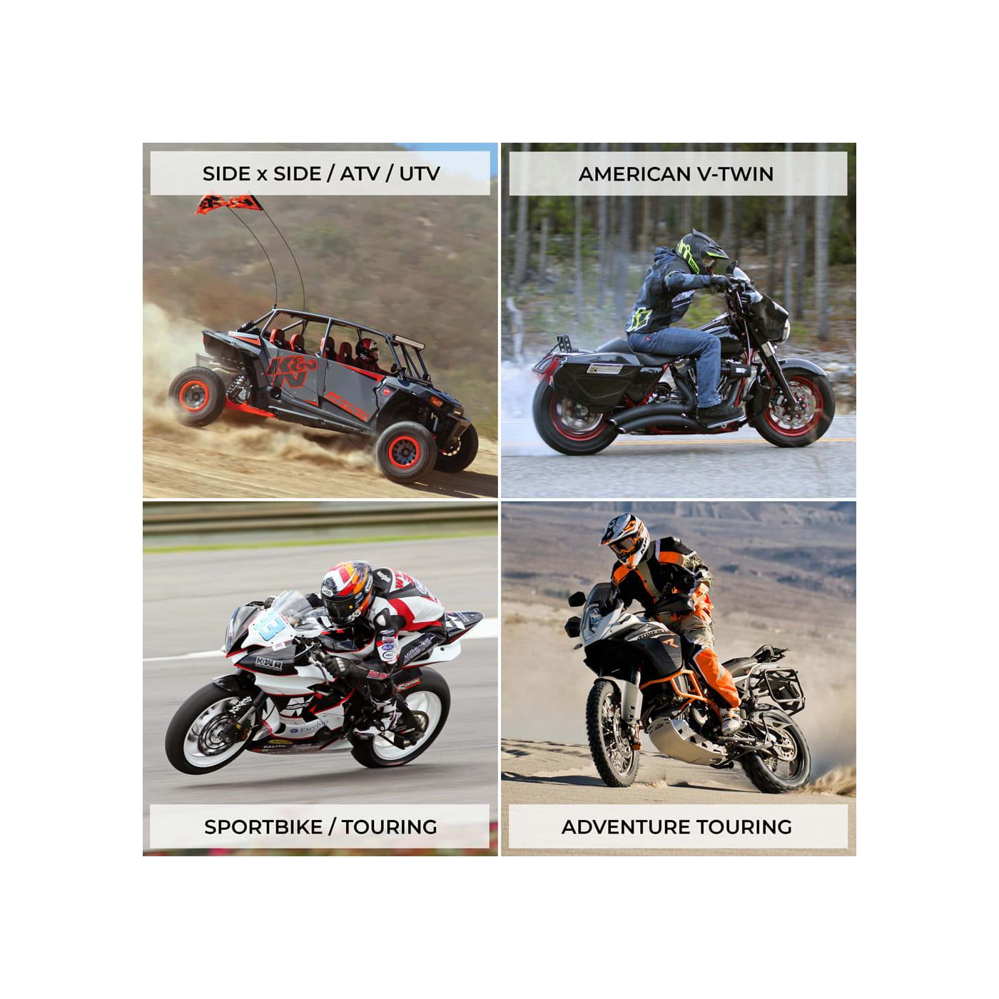 High Flow Air Filter For 1981 Honda CB750K Street Motorcycle~K/&N HA-1079