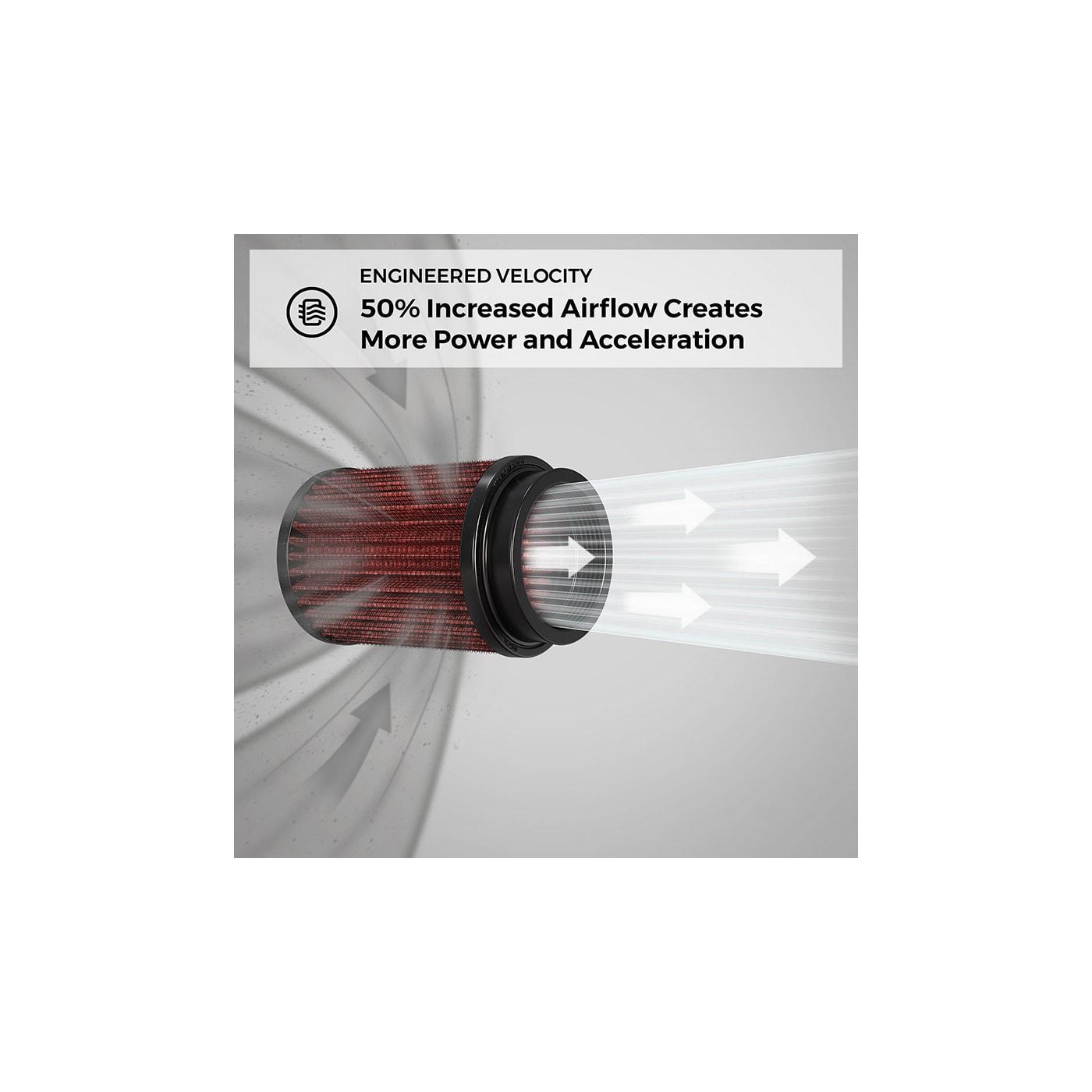 K/&N RF-1039 Universal Chrome Filter