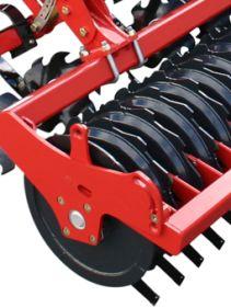 Kverneland Qualidisc Pro operating with cutting quality and good penetration
