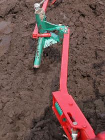 Kverneland Packer Arm, attachment to reduce plough side forces, unique steel provides great strengt