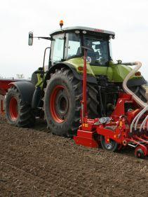 Kverneland DF1, balanced and flexibility on field while seeding