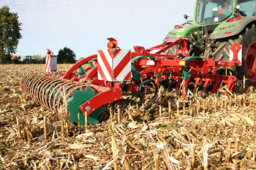 Stubble Cultivators - Kverneland CLC ProCut with wide rigid model, made for lang residues as maize sunflower and sugar cane