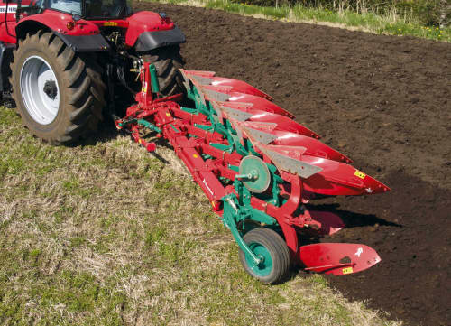 Reversible Mounted Ploughs - Kverneland ES-LS, unique steel treatment provides great life time and makes it easy in use during operation