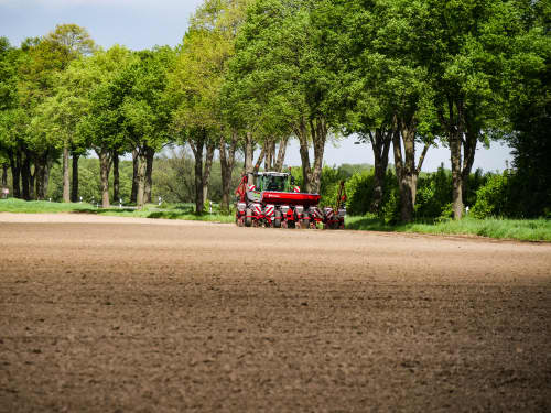 Kverneland optima TFprofi, high performance and reduced tractor power requirement