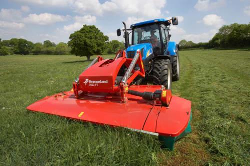 Kverneland 3600 FT FN FR versatile, innovative suspension system