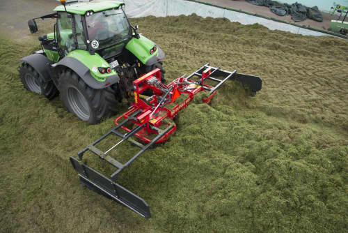 Silage Spreaders - VICON DUPLEX 400 - 600, great capacity and high performance also easy to use in operation