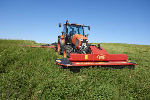 Plain Mowers - VICON EXTRA 324F ALPIN - FRONT MOUNTED ALPINE DISC MOWER, made for mountain regions and hilly conditions with its stable gravity point and excellent visibility