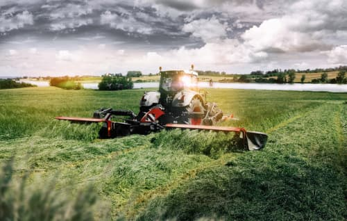 Mower Conditioners - VICON EXTRA 7100T VARIO - 7100R VARIO - EFFICIENT BUTTERFLY MOWER COMBINATION, outstanding performance with new QuattroLink suspension