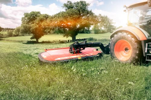Mower Conditioners - VICON EXTRA 736T VARIO- REAR MOUNTED MOWER CONDITIONERS, Machine of the year 2017, optimal ground preasure and vertical transport solution for safe and efficient movement