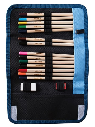 Personalised Colouring Pencils With Case