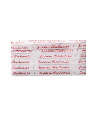 Etichette termoadesive a tessuto