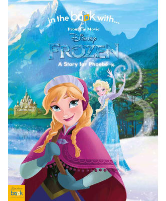 Personalised Disney Frozen Book