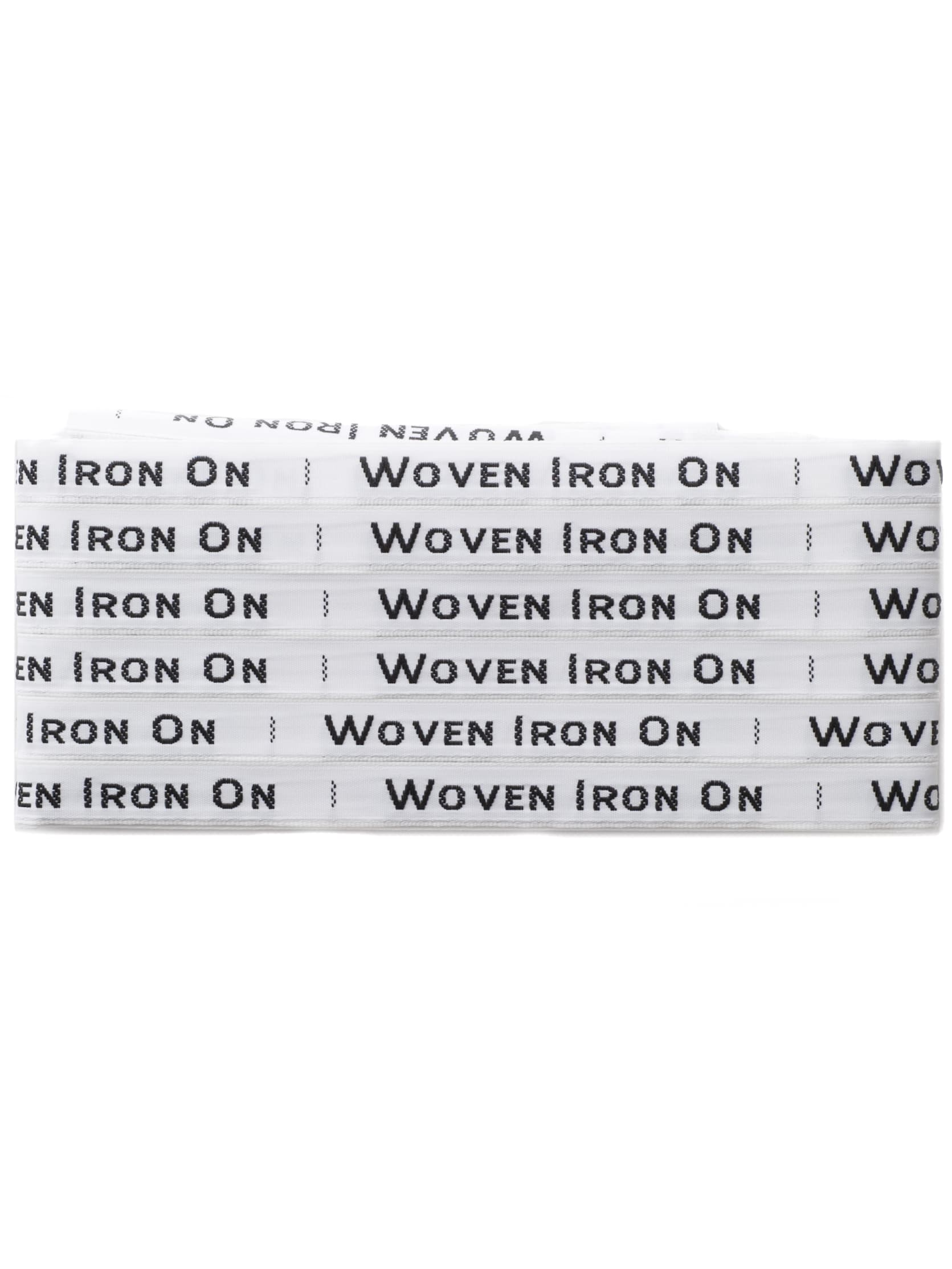Woven Iron On Labels