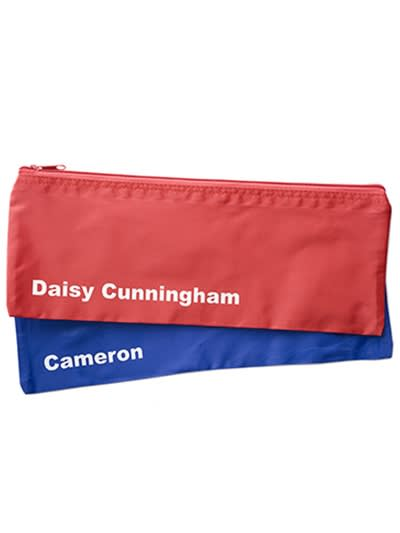 Personalised Pencil Cases, Labels4kids
