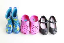 Etiquetas para zapatos de vinilo