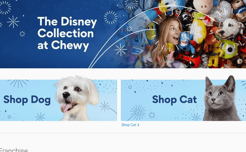 The Disney Collection at Chewy: Disney, Pixar, Star Wars and Marvel for Pets