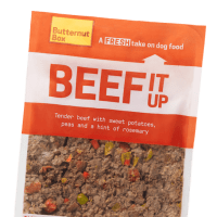 A pouch of our Butternut beef meal