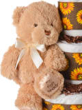Gund Tan Plush Teddy Bear for Baby
