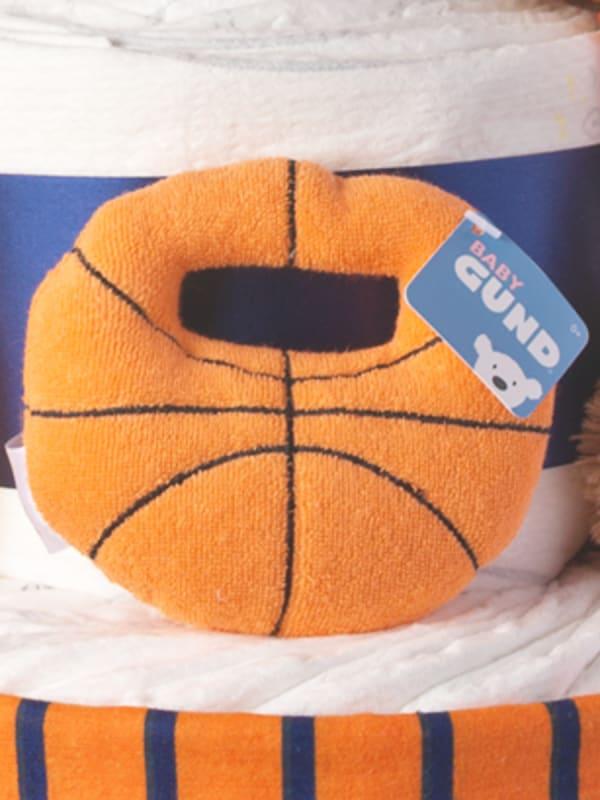 Basketball Diaper Cake for Boys