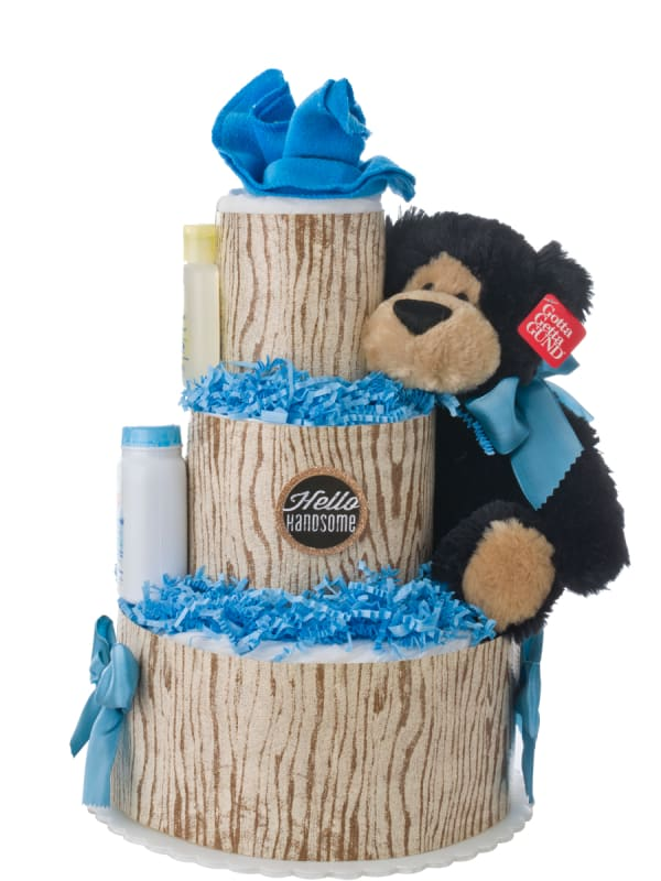 Hello Handsome 3 Tier Diaper Cake