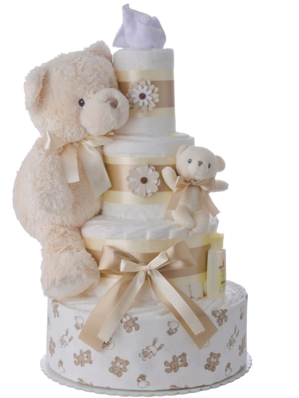 Sweet Cream Pampers Cake Neutral
