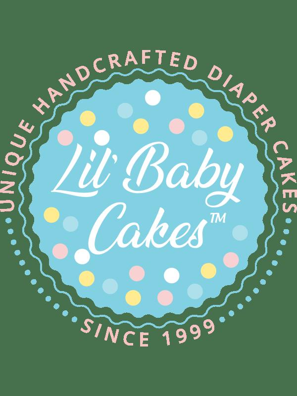 Lil' Sunflower Diaper Cake for Baby Girls