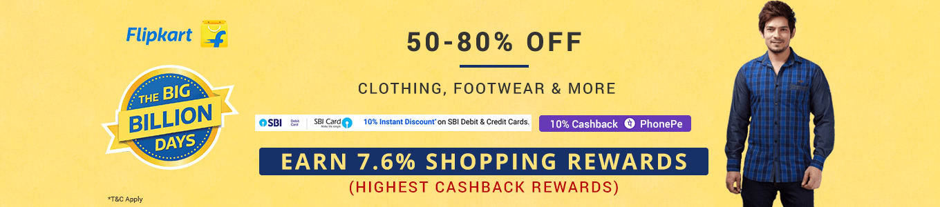 Flipkart fashion big billion days banner desktop il5dev