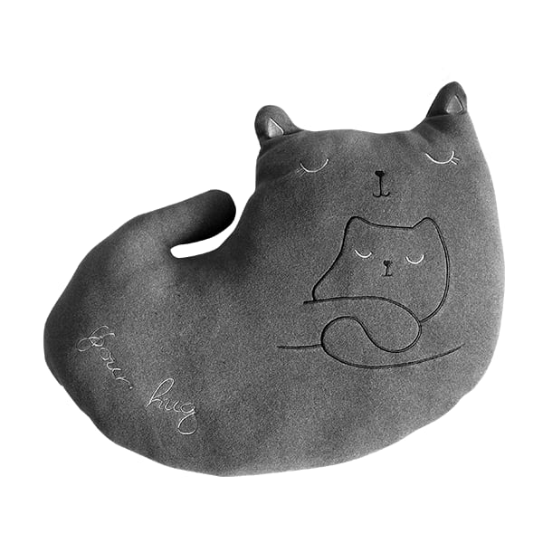Dourman plush kitten pillow 1 b5alap