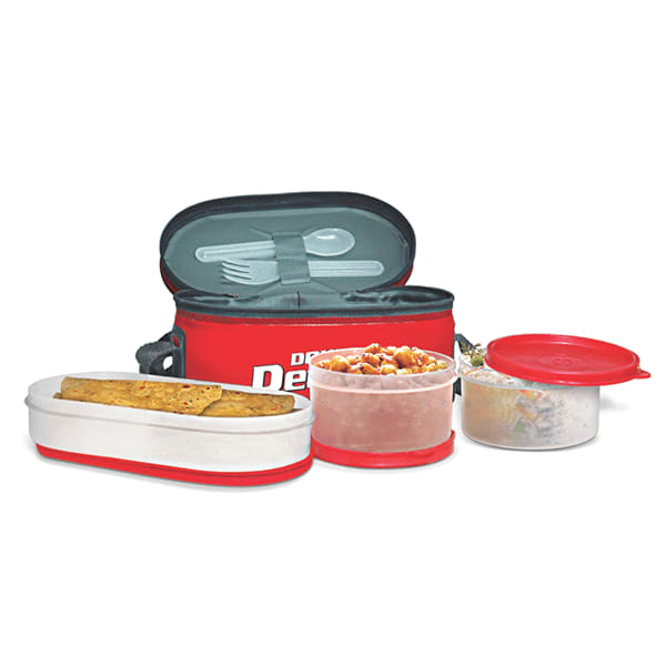 Milton Double Decker 3 Container Lunch Box