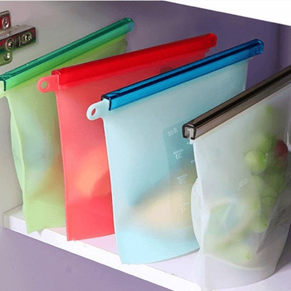 Silicone storage washable bags slider 1 o63m0h