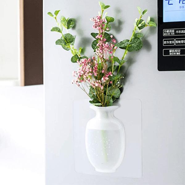 Sticky   reusable silicone flower vase slider 1 rxlarz