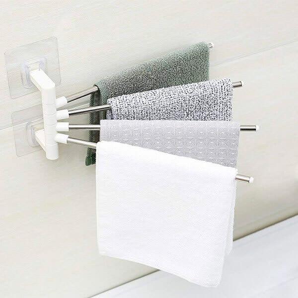 Hanging towel rack slider 1 fjlvik