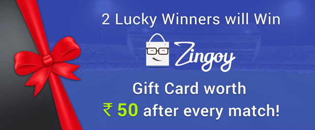 Zingoy Cashback League: Win Cashback By Predicting World Cup