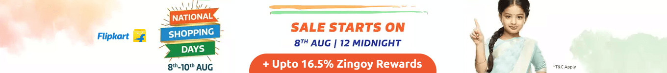 Flipkart national shopping days campaign j4xsu1