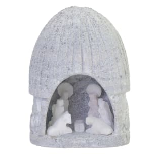 SCF114M Alabaster Nativity - Medium