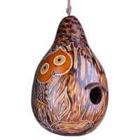 Forest owls Gourd Birdhouse