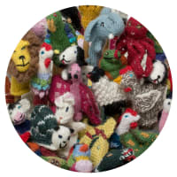 UKP001A Assorted Animals Alpaca