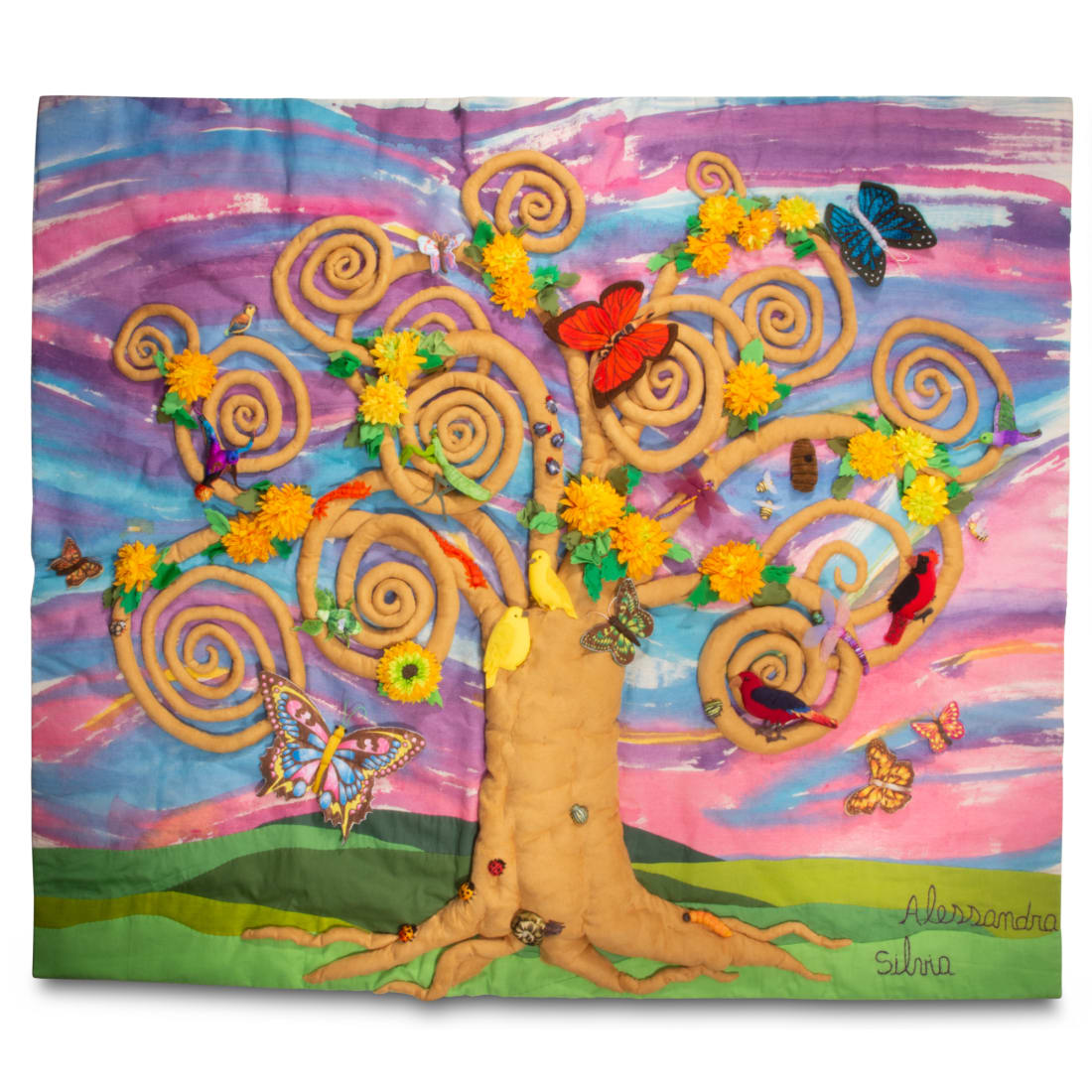 Butterflies and Friends Tree - Large