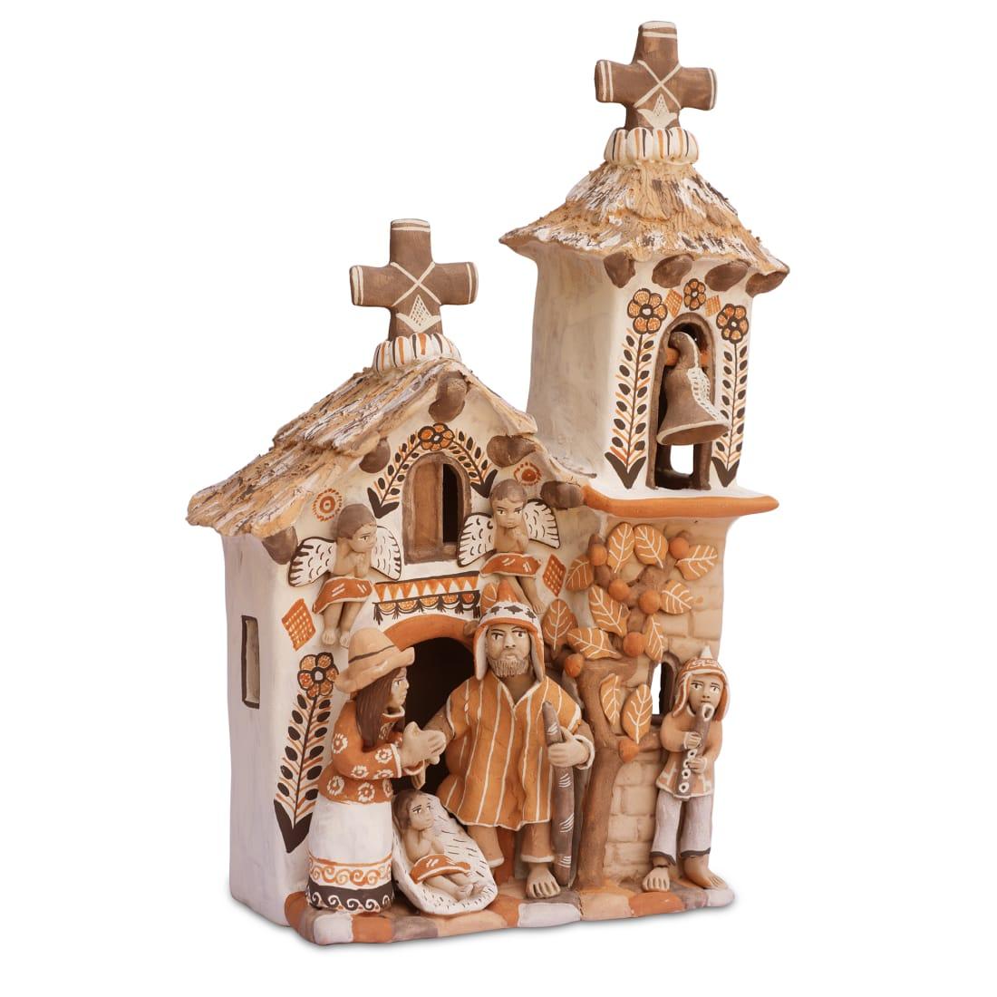 Nativity & Church Medium
