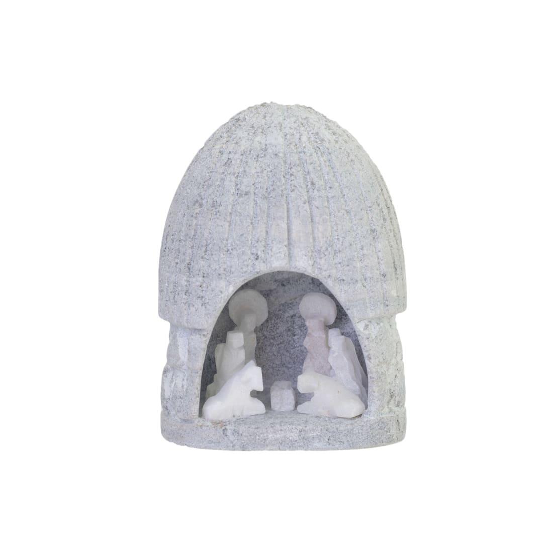 SCF114M Alabaster Nativity - Medium